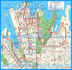 Карта города Сидней